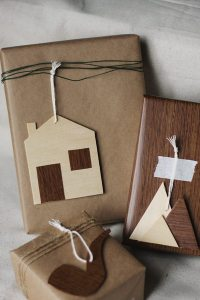 DIY Wooden Gift Tags - The Sweetest Occasion