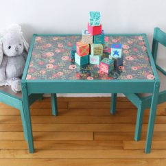 Ikea Kids Table And Chairs Eames Molded Plywood Dining Chair Diy Makeover The Sweetest Occasion