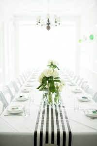 A Graphic Black + White Modern Baby Shower | The Sweetest ...