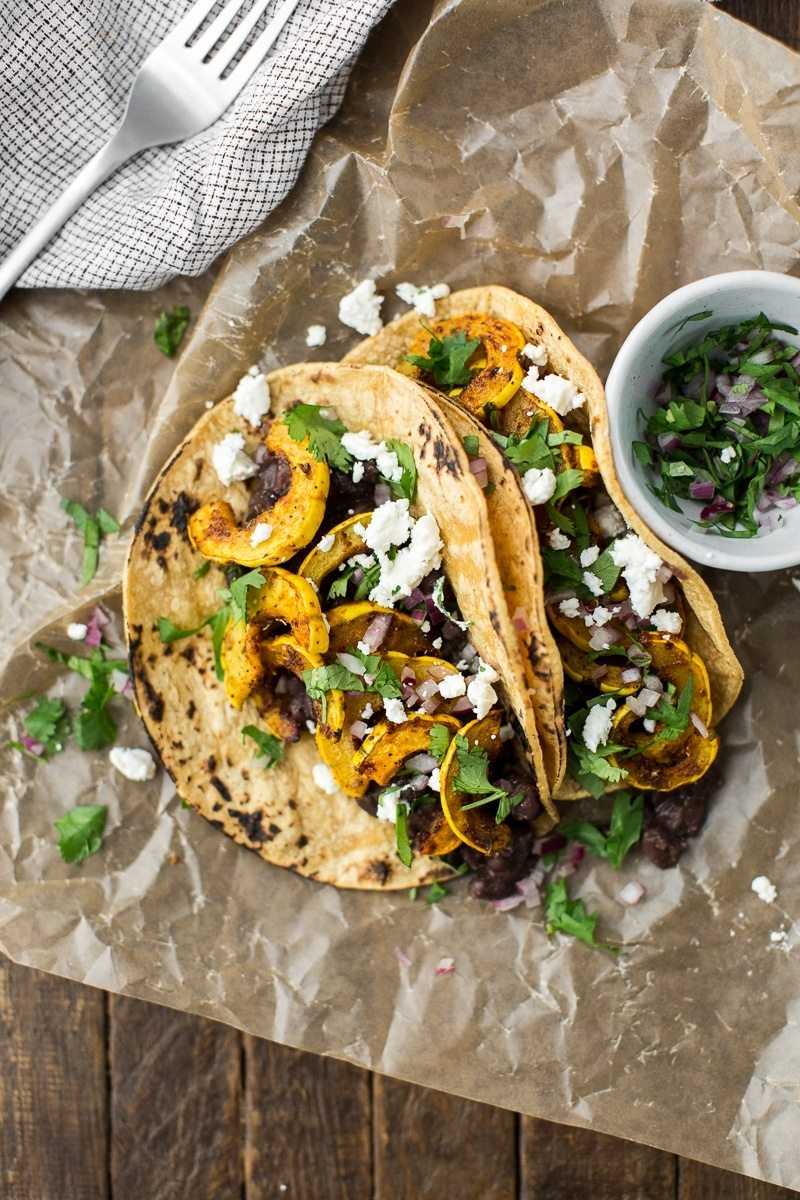 squash tacos recipe with black beans get your fix of taco recipes
