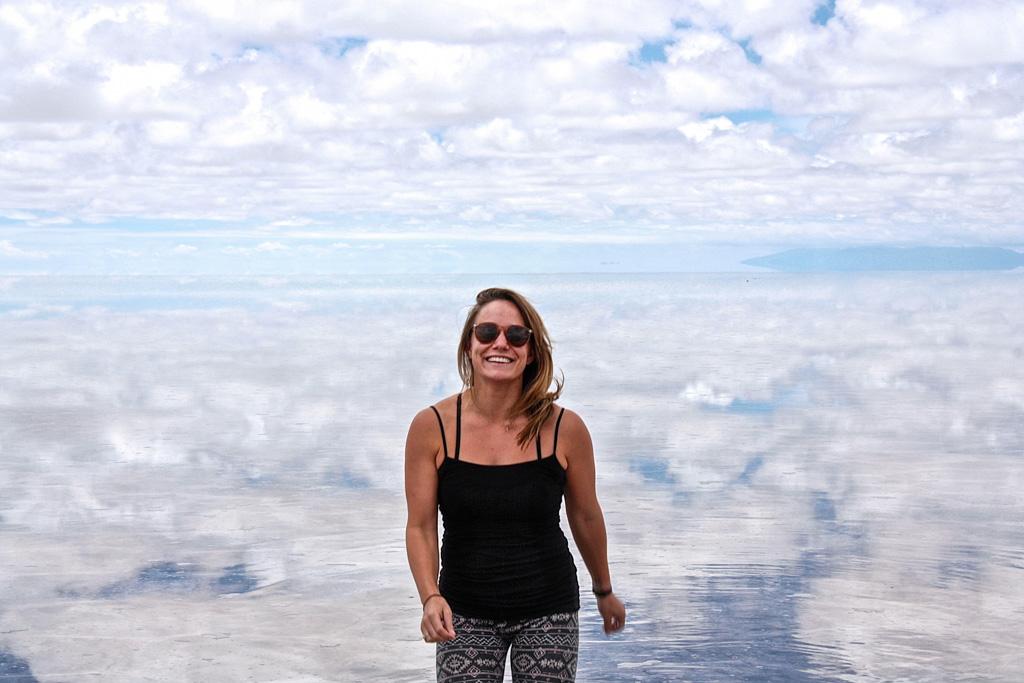 Salar de Uyuni, the world's largest salt flat