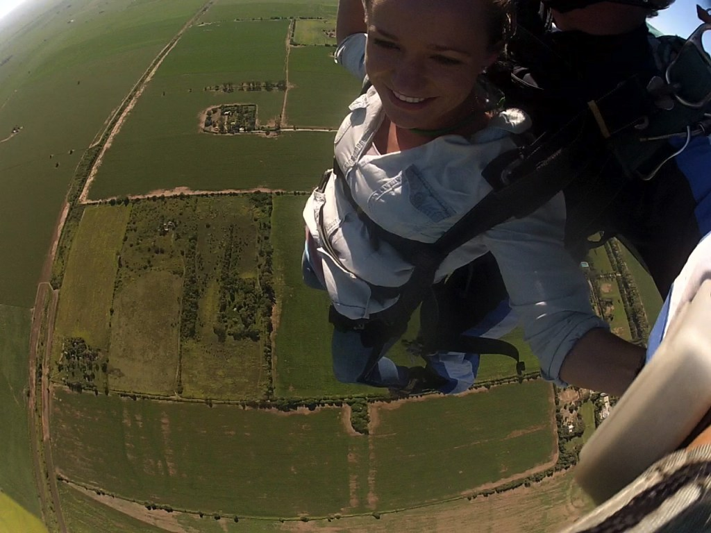 Skydiving in Alta Gracia, Argentina