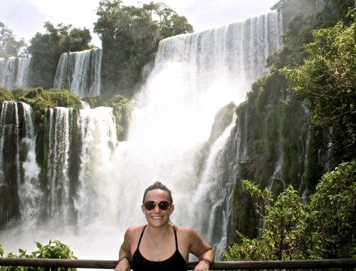 Solo travel at Iguazu Falls