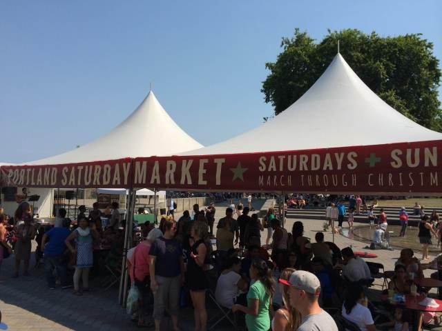Saturday Market, Portland, Oregon