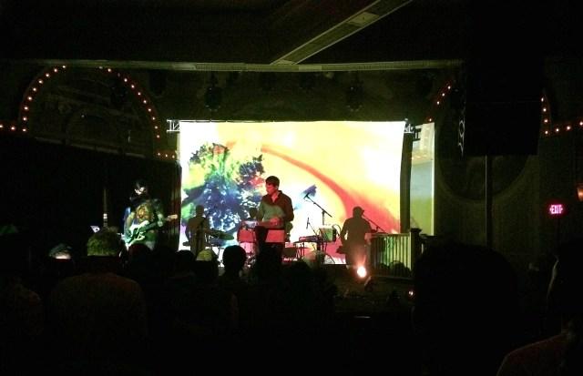 Tycho live show in Portland, Oregon