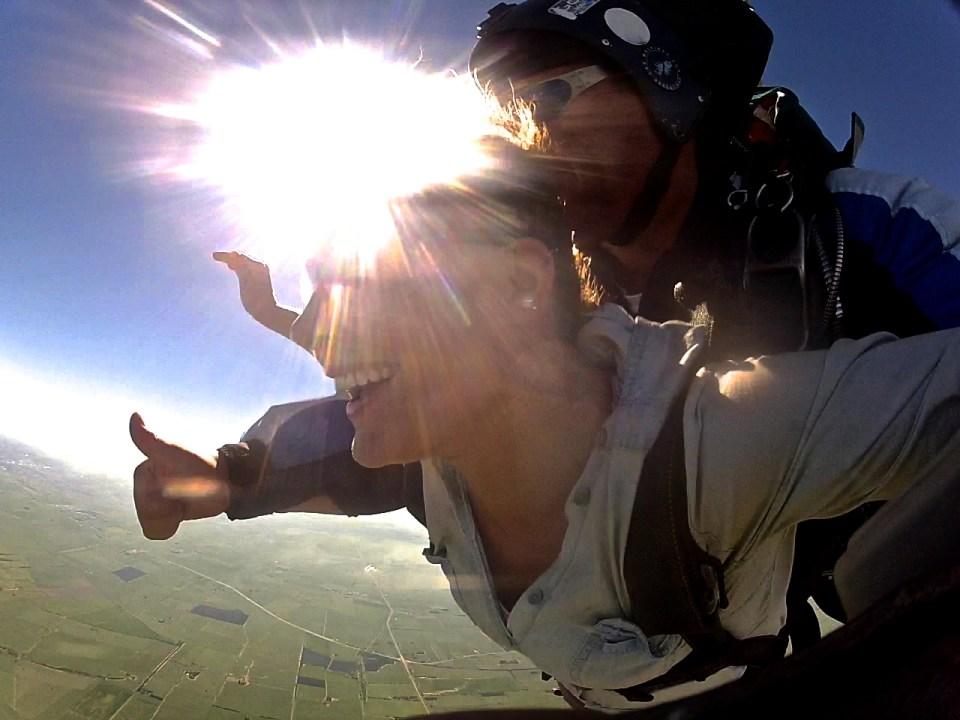 Skydiving in Cordoba, Argentina
