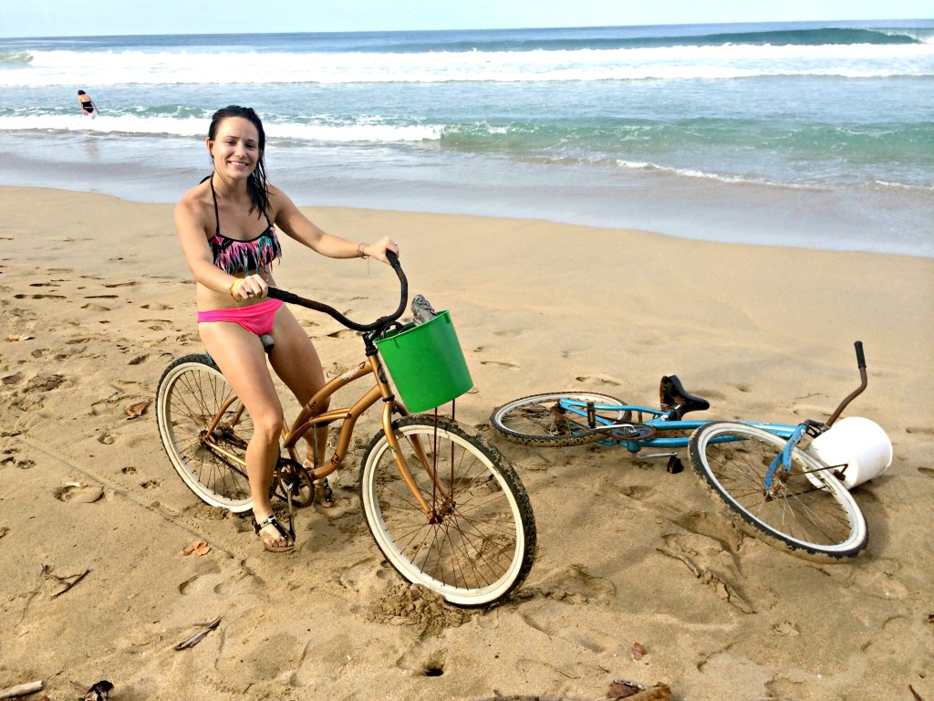 Beach cruising at Punta Uva
