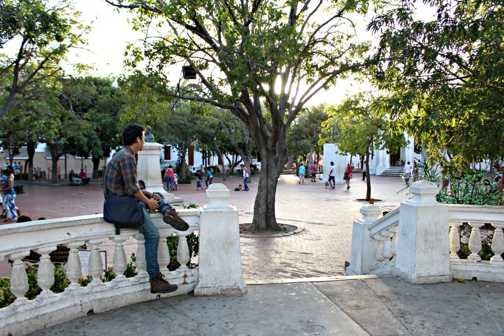 Parque de los Novios, Santa Marta, Colombia