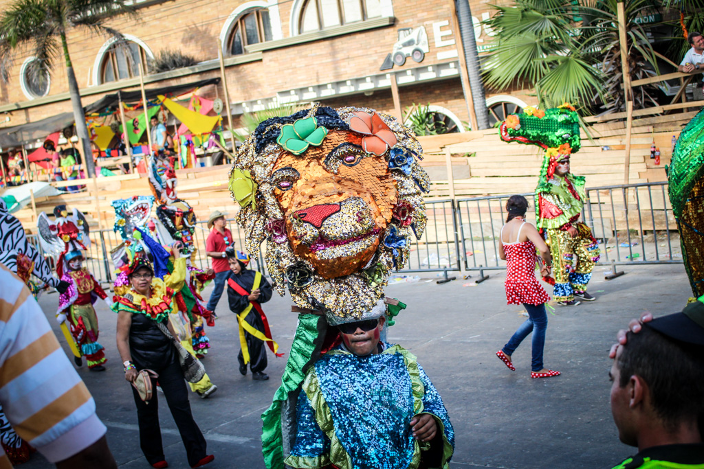 Carnival 2015 in Barranquilla, Colombia