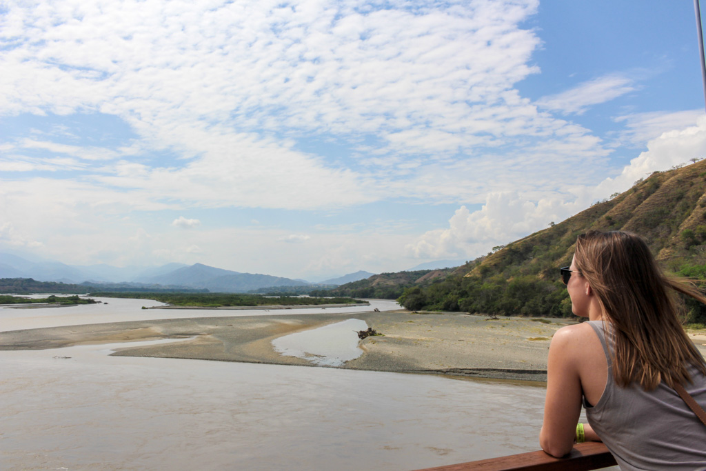 Overlooking the Cauca River