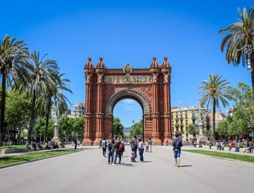 Arc de Triunfo, Barcelona, Spain