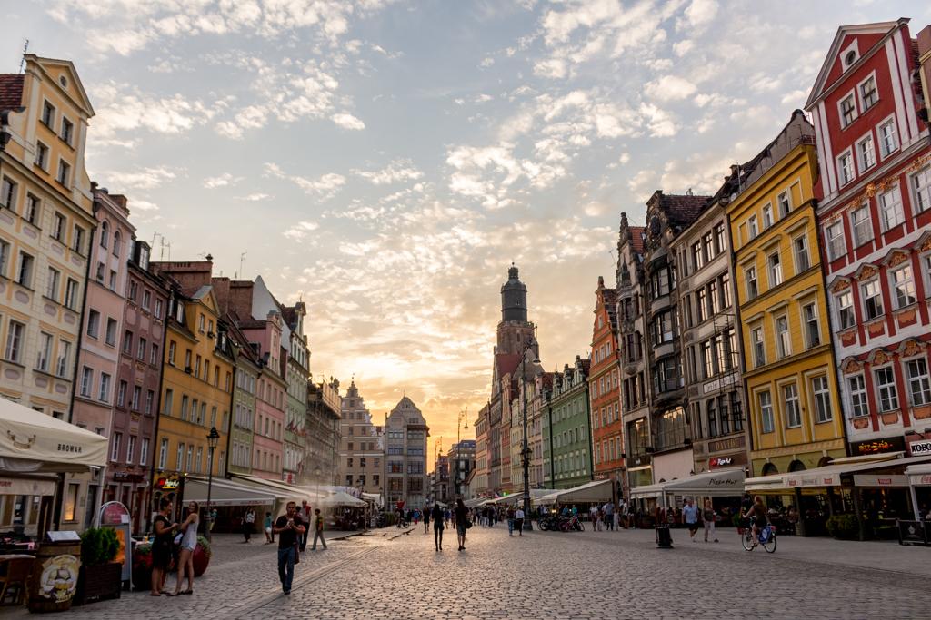 Main Market Square, Wroclaw, Poland