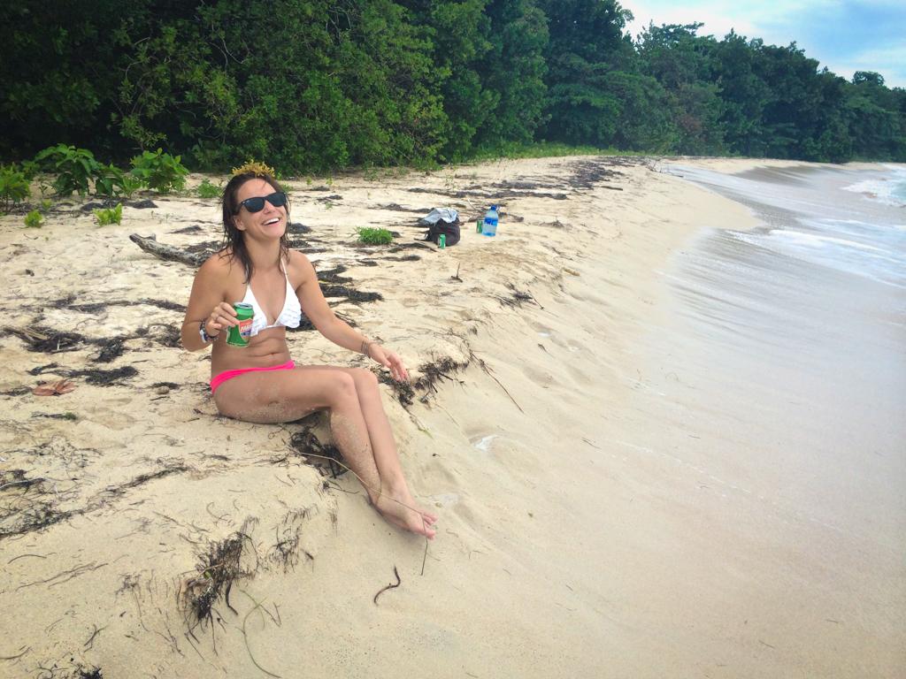 Sitting pretty in Bocas del Toro
