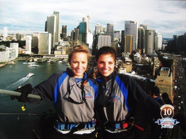 Climbing the Sydney Harbor Bridge