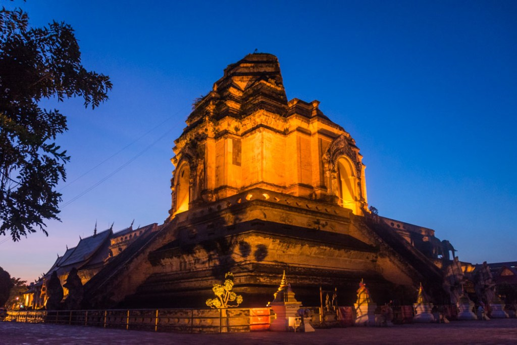 Wat Chedi Luang, Chiang Mai, Thailand. Photo by Nomad is Beautiful