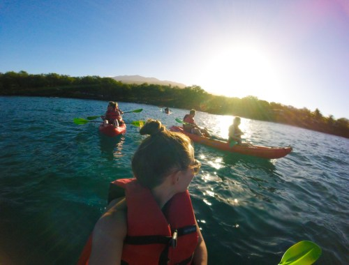 Kayaking with Maui Kayak Adventures