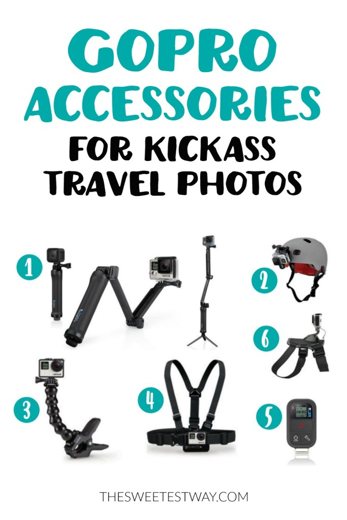 Take great travel photos with a GoPro and these awesome accessories.