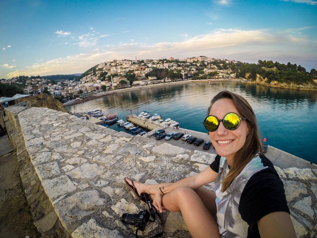 GoPro Travel Selfie Ulcinj, Montenegro