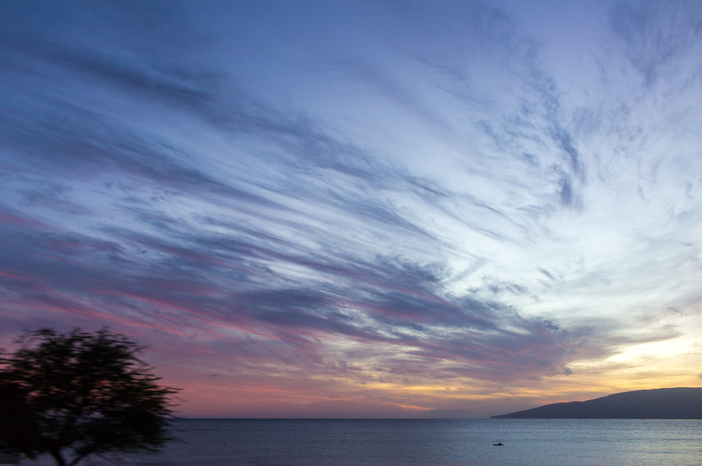 Honoapiilani Highway Sunset, Maui