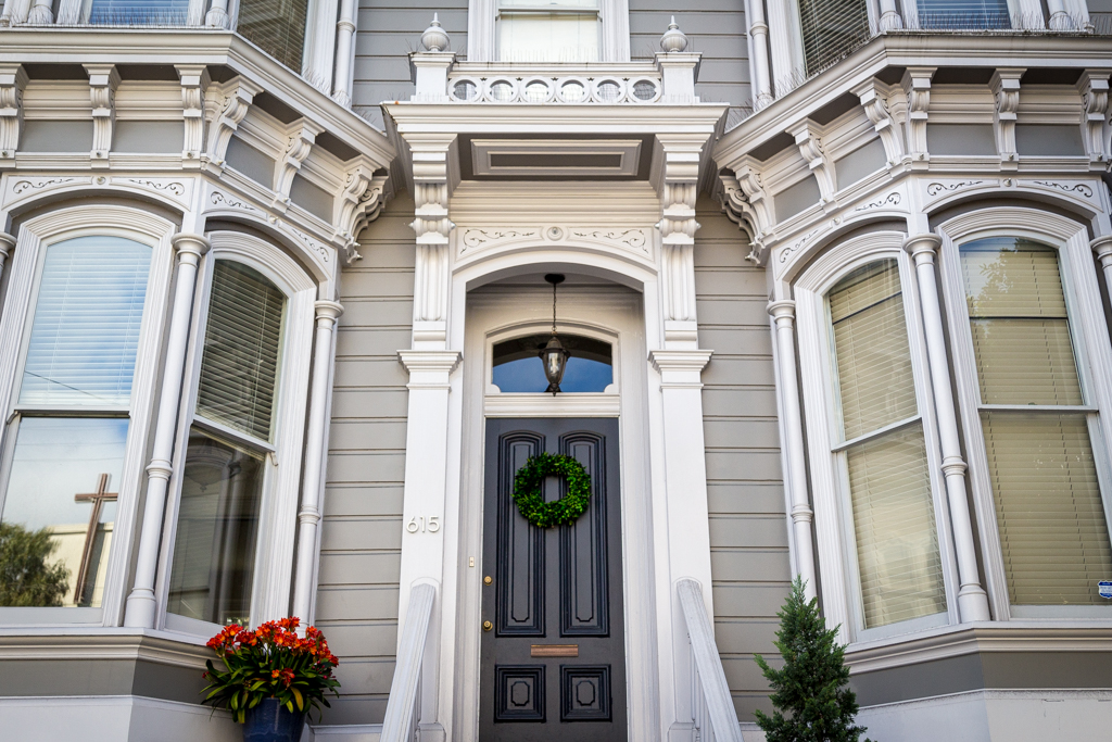 Victorian architecture in Hayes Valley, San Francisco