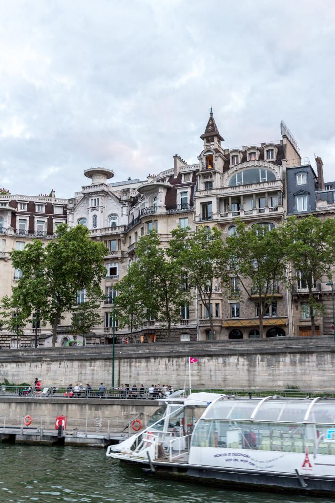 Sightseeing cruise on the Seine, Paris