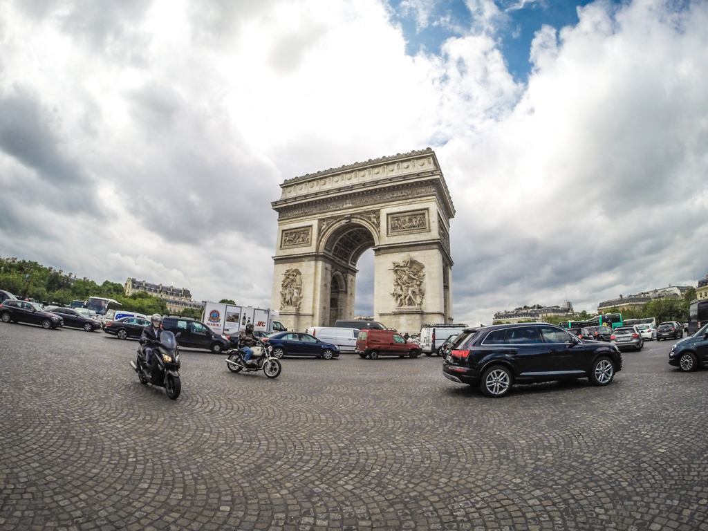 Paris in four days: Visit the Arc de Triomphe