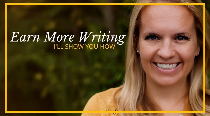 Earn More Writing, a course to help you become a full-time freelance writer and earn what you deserve!