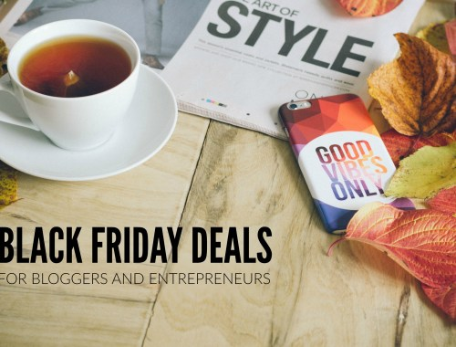 Black Friday deals every blogger should know about!