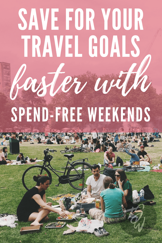 Save for your travel goals faster by having spend-free weekends! Free ideas for weekend warriors.