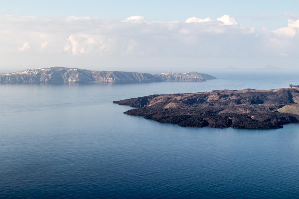 Mornings on the Aegean Sea, Santorini