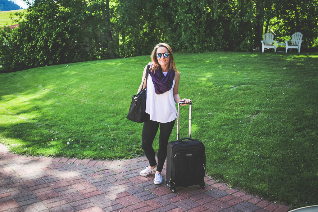 Encircled Multiway Clothing: How to style the Chrysalis Cardi for a long travel day