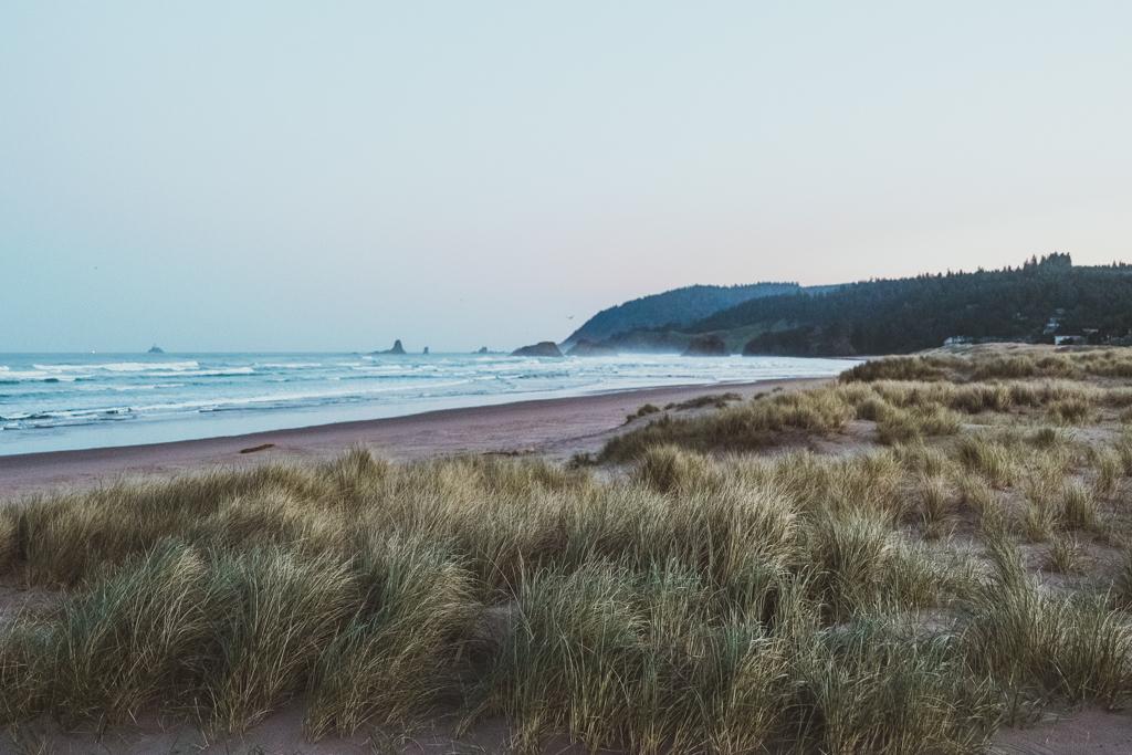 Sunrise in Cannon Beach, Oregon