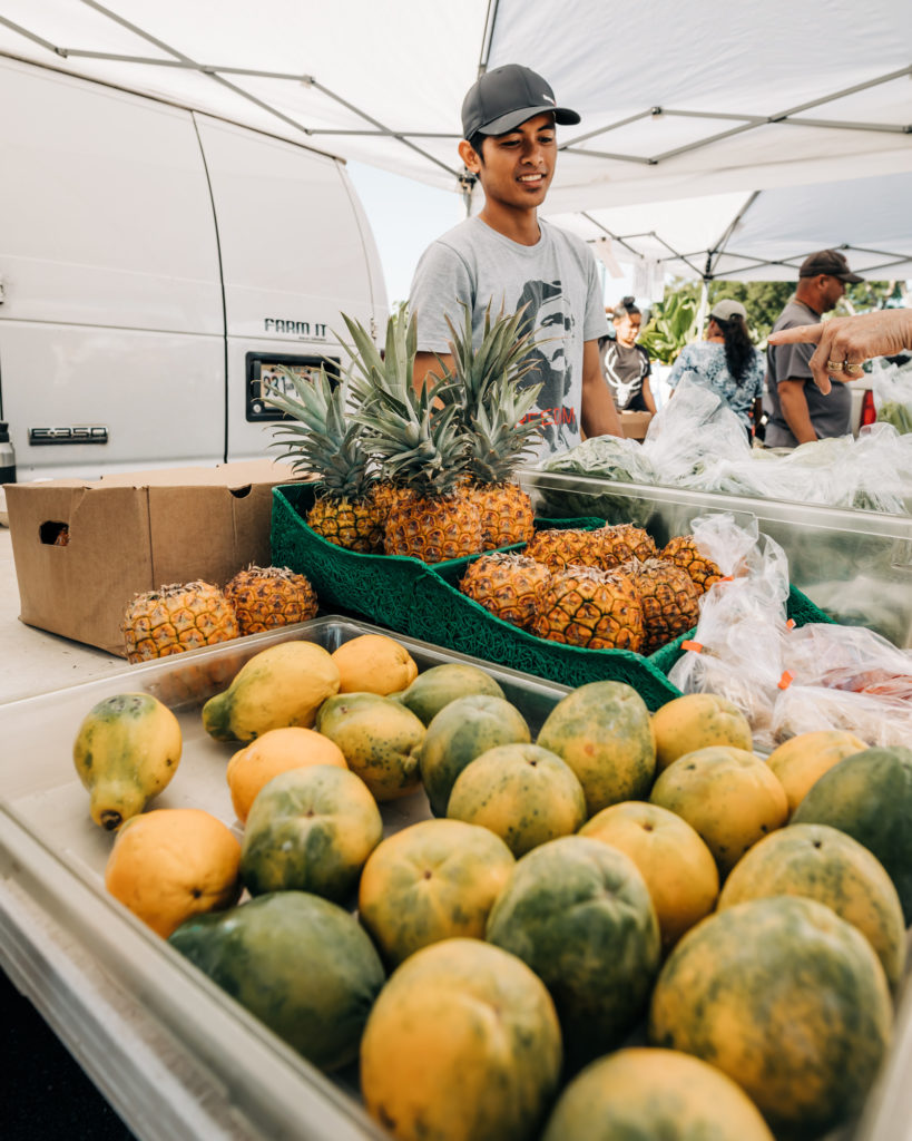 5 Things to Know Before Traveling to Maui, Hawaii: Shop at local farmers markets