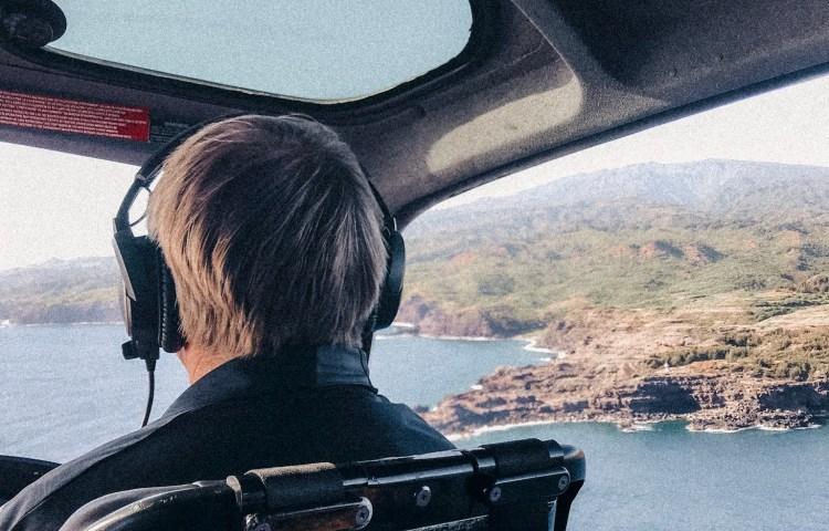 Helicopter tour Maui