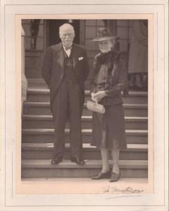 WG Sweet (1876-1953) and Jean (Brown) (1878-1952) circa 1947?