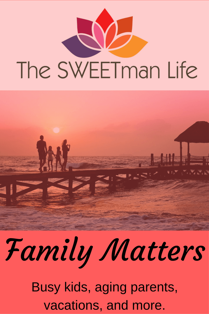 Family Matters with busy kids, aging parents and more.