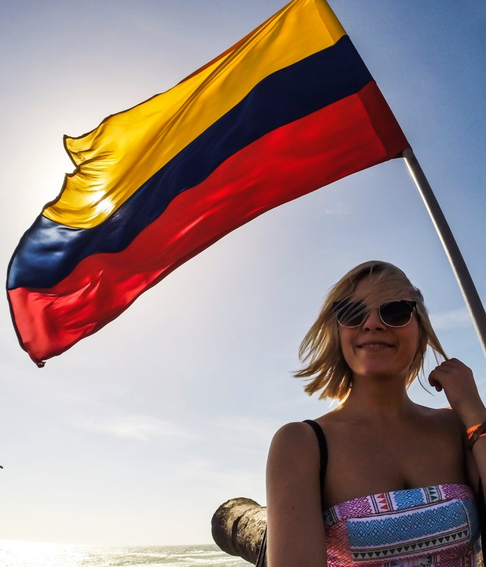 Cartagena - Colombian flag