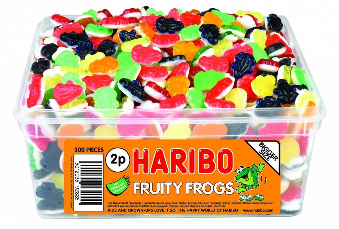 Variation Of HARIBO SWEETS FULLY SEALED TUBS BOXES 30