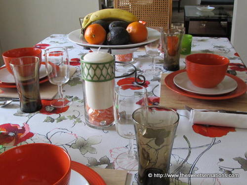 oroange table 2