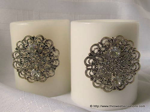 earring bling candles 3