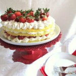 Strawberry Gateau ~ Cake Slice Bakers May