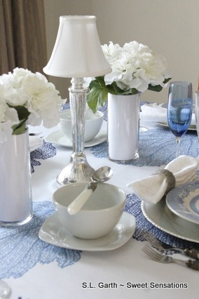 Blue And White Table Decor Archives Sweet Sensations