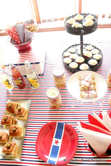 Simple and budget friendly Labor Day Buffet