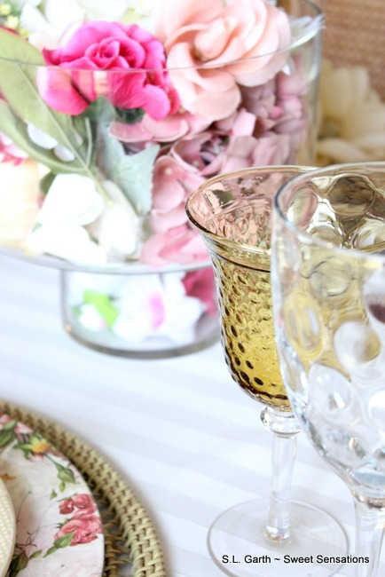 Soft Floral Tablescape 5