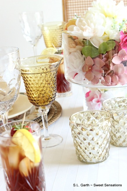 Soft Floral Tablescape 8