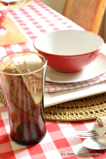 A relaxed vibe was the intention with this Down Home Country tablescape and that's what I got.