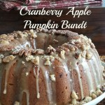 Cranberry Apple Pumpkin Bundt