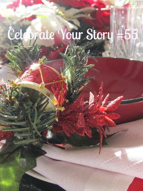 Welcome to Celebrate Your Story #55, we're happy that you stopped by.