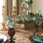 Rustic Glam Holiday Tablescape