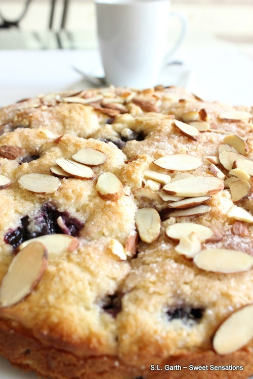 If you're looking for a quick and easy brunch or breakfast treat, this Blueberry Almond Coffee Cake might be the one.